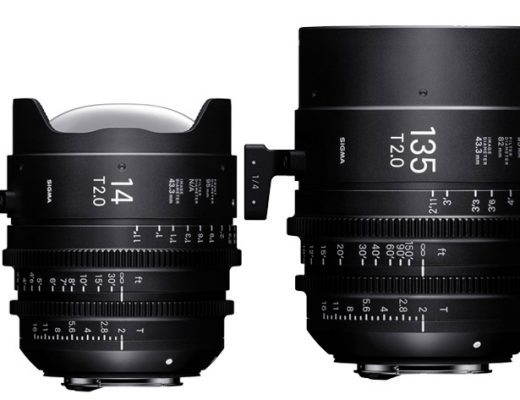 Sigma: new Cine lenses for NAB 2017