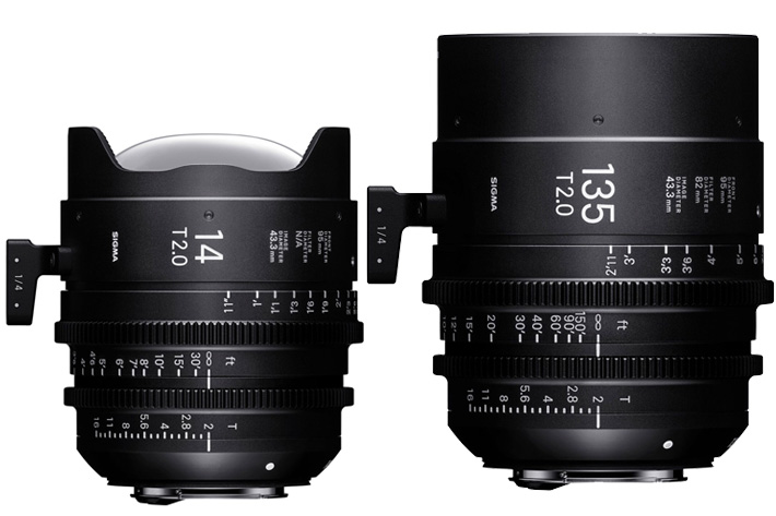 Sigma: new Cine lenses for NAB 20017