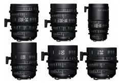 Sigma Cine Lens on show at NAB 2017