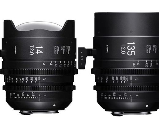 Sigma's 14 and 135mm CINE lenses now available