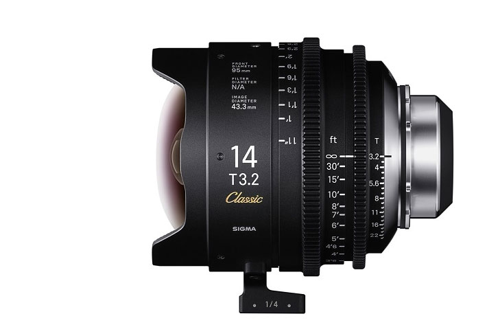 "SIGMA shows at IBC 2019 the new ""Classic Prime Line"" Cinema lenses 6"
