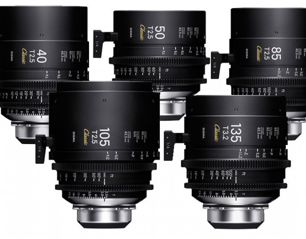 "SIGMA shows at IBC 2019 the new ""Classic Prime Line"" Cinema lenses 5"