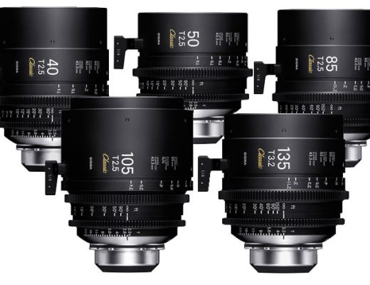 "SIGMA shows at IBC 2019 the new ""Classic Prime Line"" Cinema lenses 4"