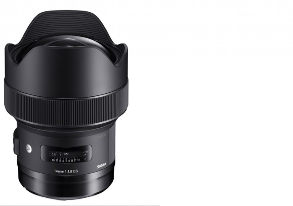 Sigma: world's first 1.8 wide-angle lens