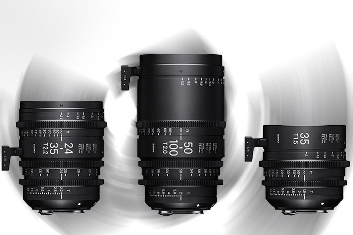 Sigma Cine lenses on show in Los Angeles