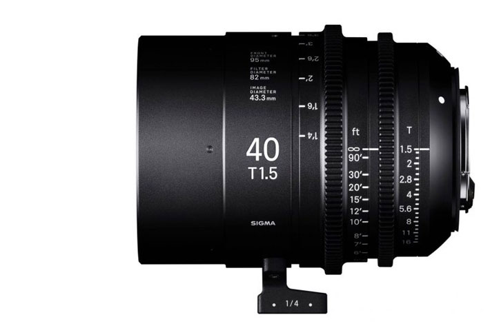 Sigma lenses for Christmas: Cine 40mm T1.5 and 70-200mm F2.8 Sports
