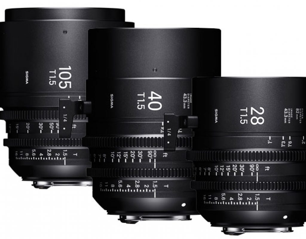 Sigma 28, 40 and 105mm T1.5: three new Cine lenses at IBC 2018