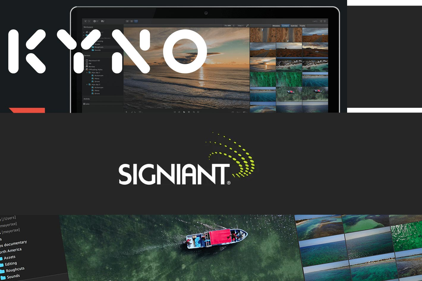 Signiant acquires Kyno developer Lesspain Software