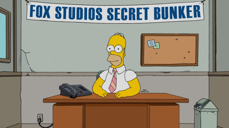 Homer is ready for your call.