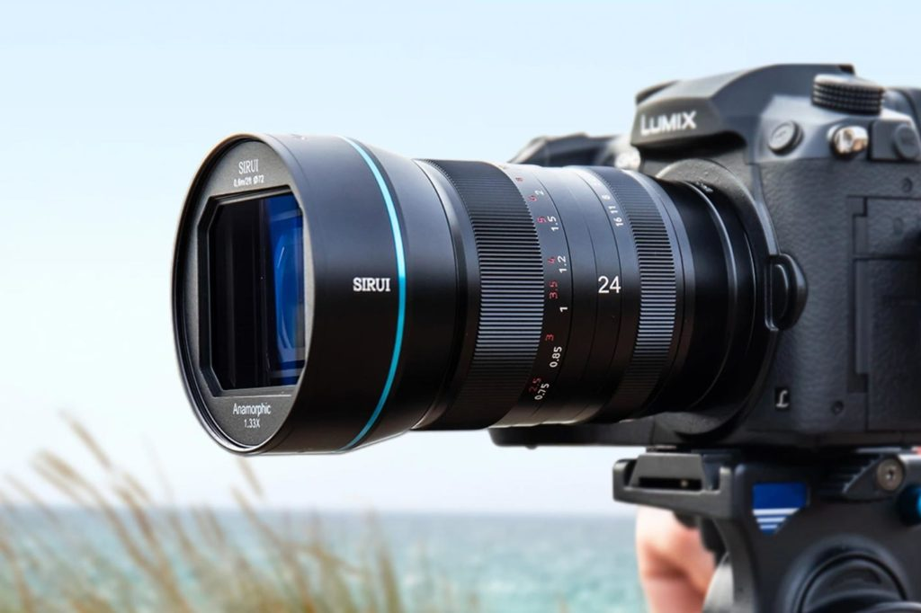 Sirui 24mm f/2.8 1.33x anamorphic lens for 5 different mounts 1