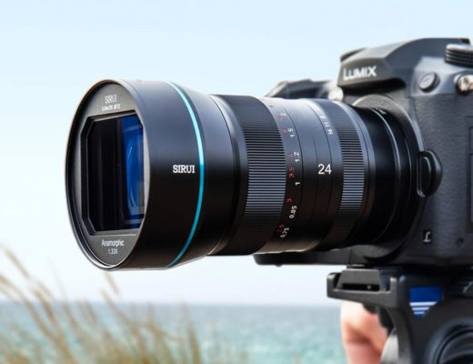 Sirui 24mm f/2.8 1.33x anamorphic lens for 5 different mounts 2