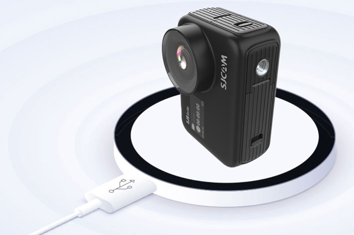 SJ9 Strike and SJ9 Max: wireless charging comes to action cameras