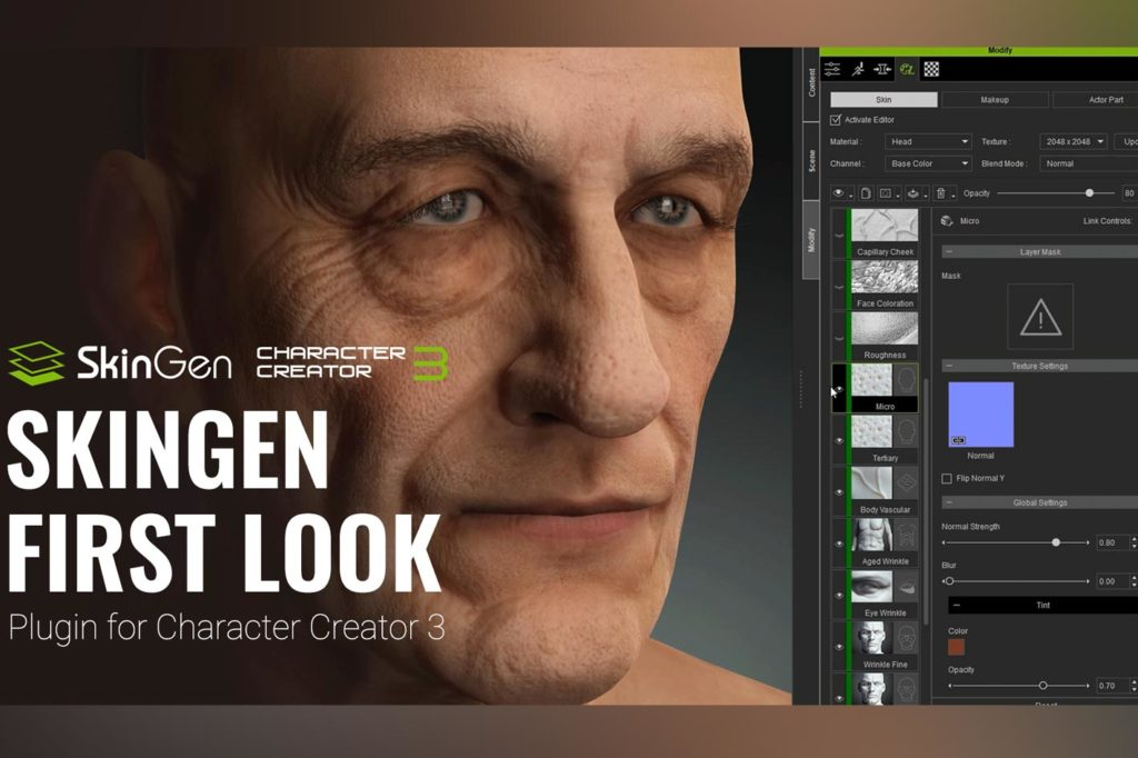 First Look: Reallusion reveals SkinGen for digital humans creation