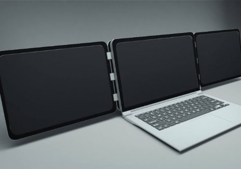 The world's first triple screen for your laptop 1