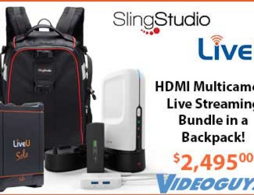 Live Streaming Bundle Lets You Stream Live Anywhere!