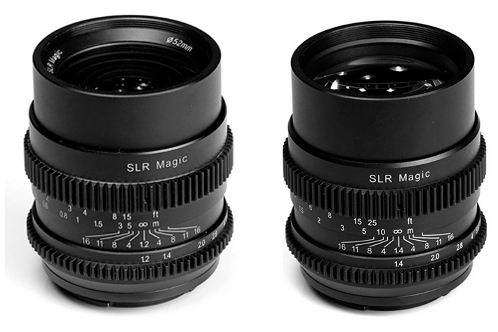 SLR Magic Cine lenses at Cine Gear Expo