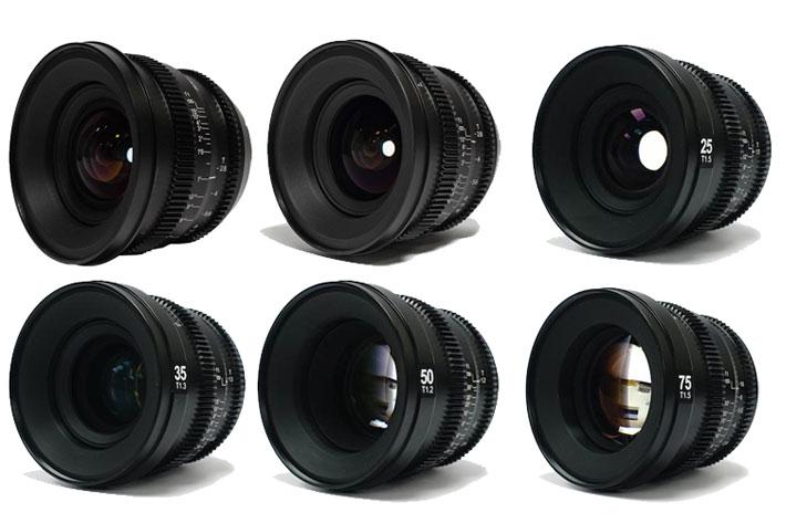 SLR Magic: seven MicroPrime Cine lenses for Fujifilm X cameras