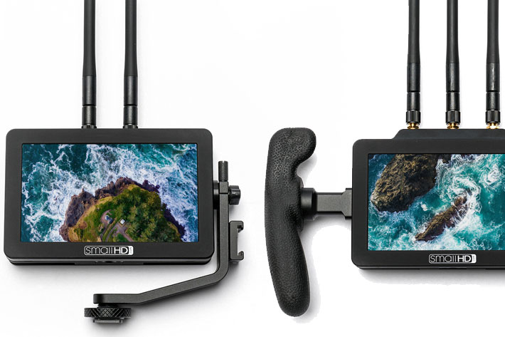 SmallHD FOCUS Bolt TX and RX: new wireless monitors with touchscreen