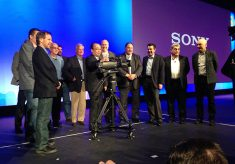 Sony Unveils 4K Camera System with 3 4K Sensors