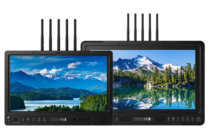 "SmallHD announces world's first wireless 13 and 17"" production monitors 8"