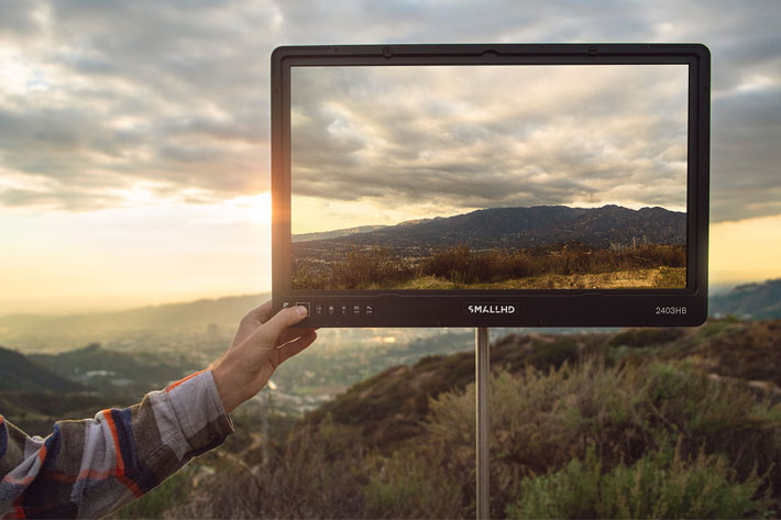 SmallHD 2403 HB: the world's brightest 24-inch production monitor 5