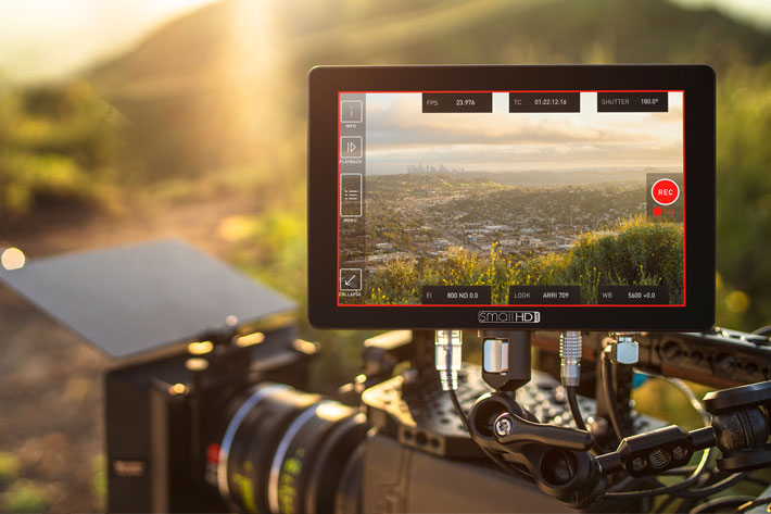 SmallHD offers ARRI Camera Control License with Cine 7 monitors