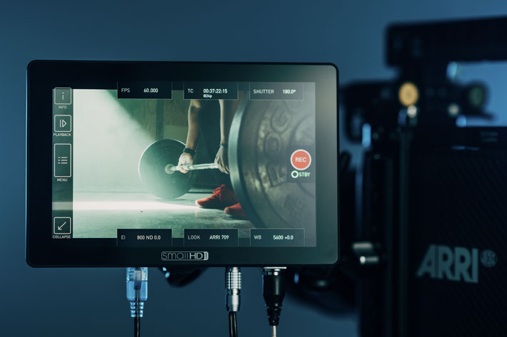 SmallHD Cine 7: a Cinema control monitor for ARRI, RED and Sony cameras