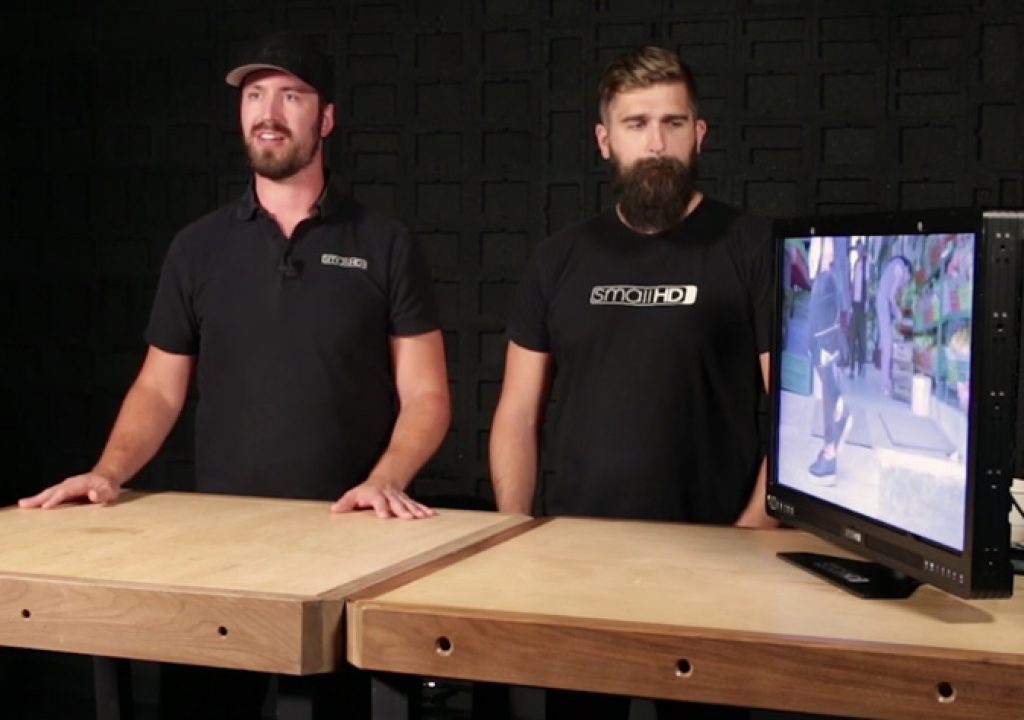 SmallHD: new firmware for Production Monitors