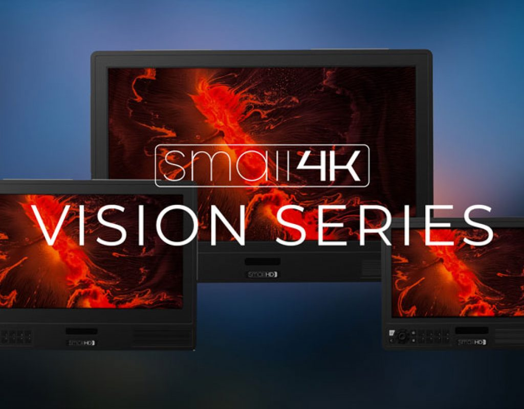 Small4K: two new lines of 4K field monitors from SmallHD 1