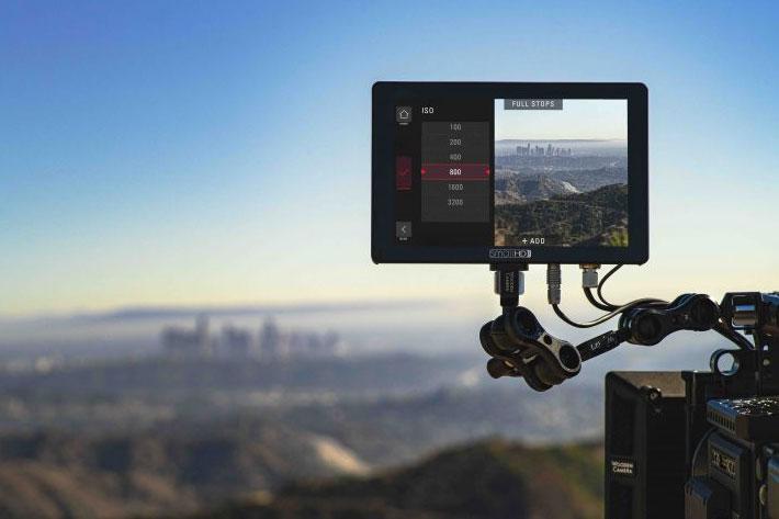 SmallHD launches Camera Control for RED DSMC2 on Cine 7 monitors 3