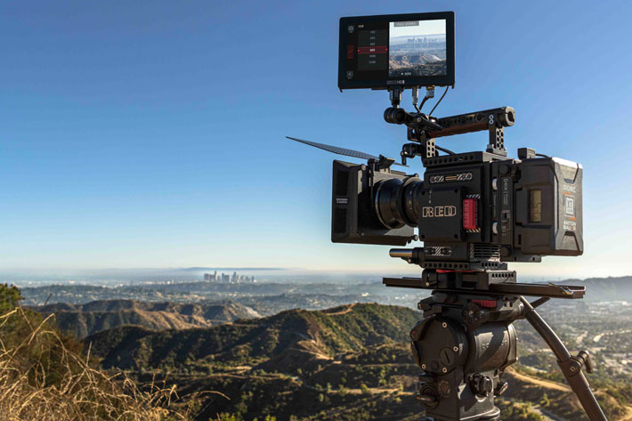 SmallHD launches Camera Control for RED DSMC2 on Cine 7 monitors