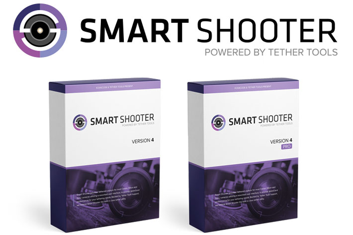 Smart Shooter 4: tethered shooting for Canon and Nikon cameras
