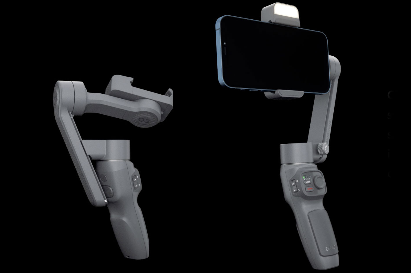 SMOOTH-Q3: a smartphone gimbal with integrated fill light