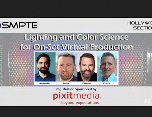 SMPTE explores Lighting and Color Science for Virtual Production