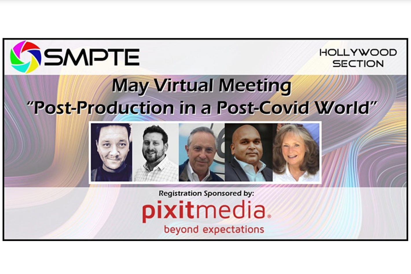 SMPTE's May panel: post-production in a post-Covid world