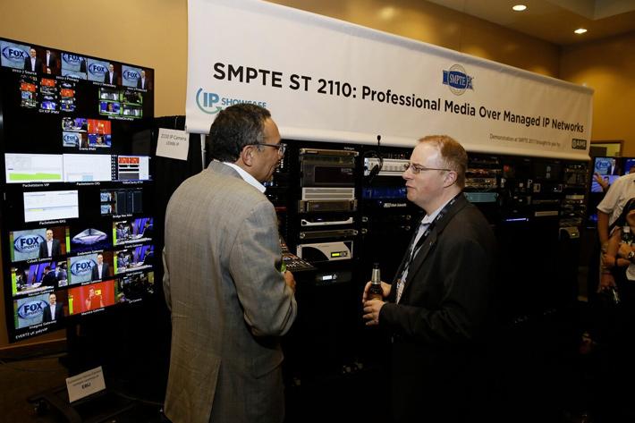 SMPTE publishes ST 2110 Standards for IP networks