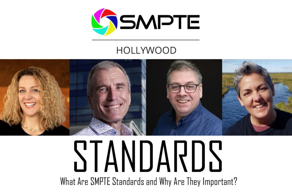 What are SMPTE standards and why are they important?