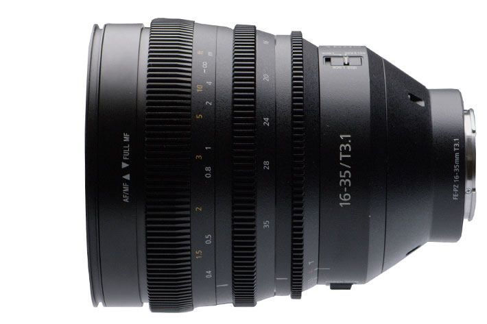 Sony E-Mount Cinema lens FE C 16-35mm T3.1 G and FX9 camera: a nice pair 6