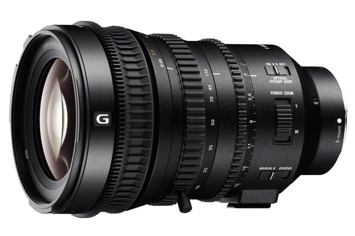 Sony E PZ 18-110mm for moviemakers