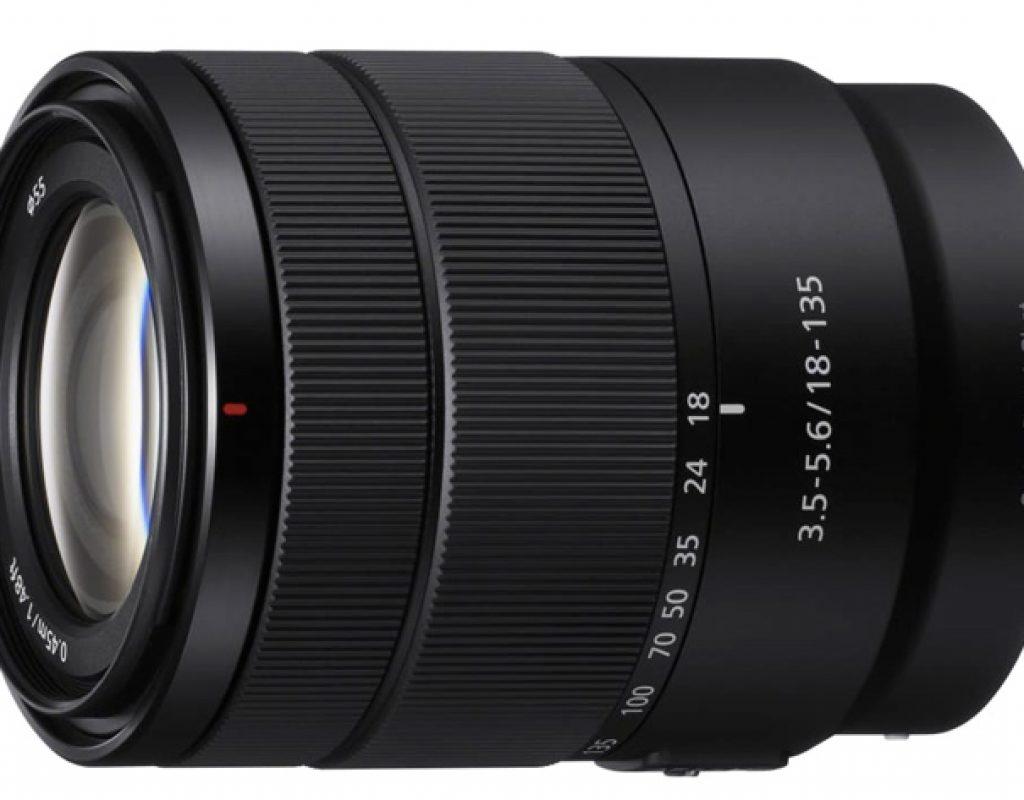 Sony 18-135 lens: a surprise before CES 2018