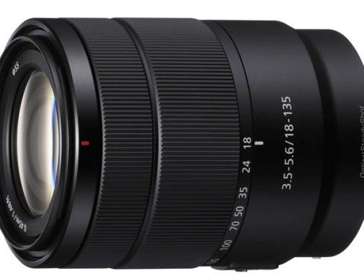 Sony E 18-135 lens: a surprise before CES 2018