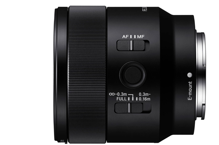 New Sony 50mm macro for E-mount