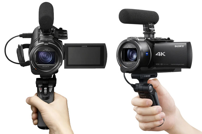 Sony FDR-AX43/B: a new camcorder for content creators and vloggers 3