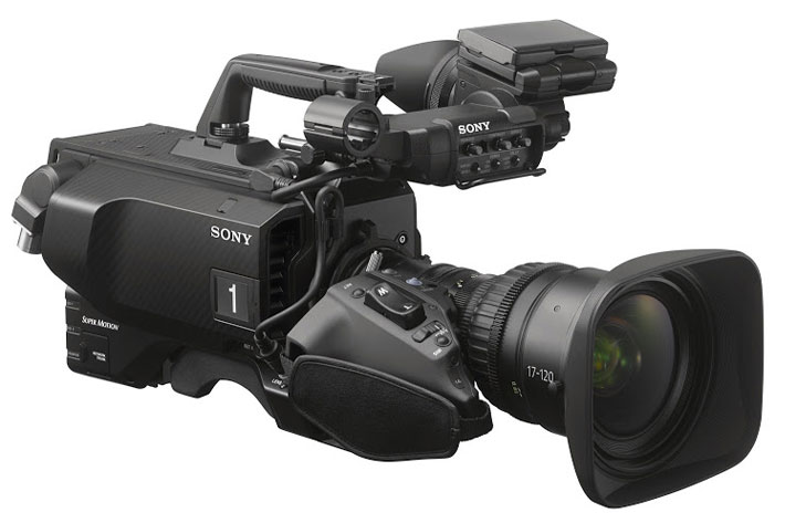 Sony HDC- 4800 at NAB 2016