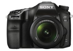 Sony α68 A-mount camera with 4D FOCUS and no 4K