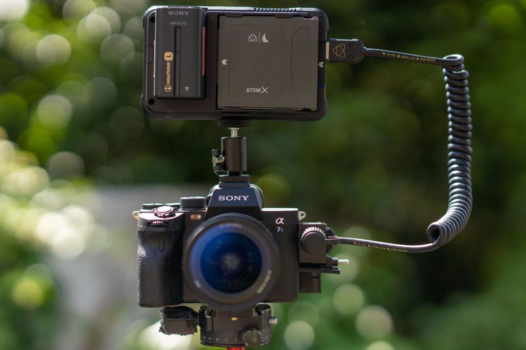 Atomos records 4Kp60 ProRes RAW with Sony Alpha 7S III