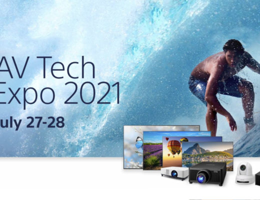 The first ever Sony AV Tech Expo is a virtual event