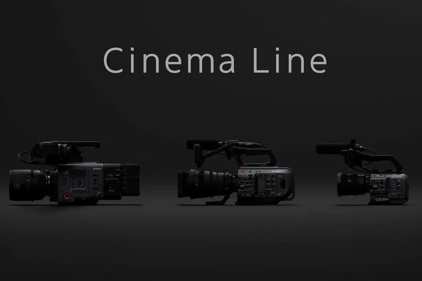 Sony introduces the new Cinema Line and shows FX6