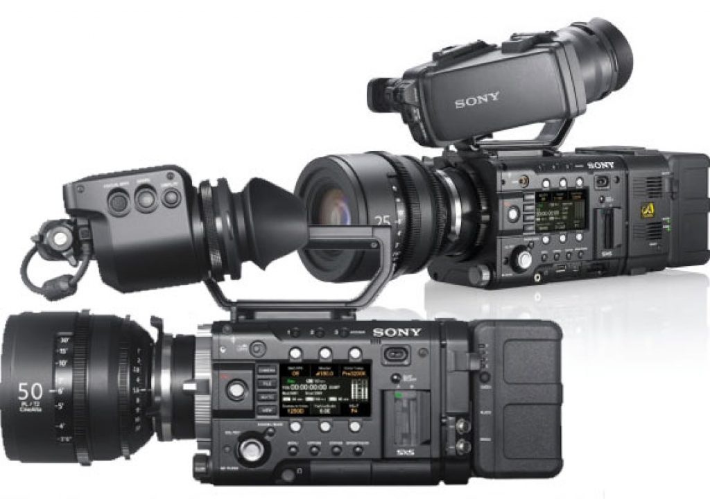 Sony F55 and F5 bundles at special prices 1