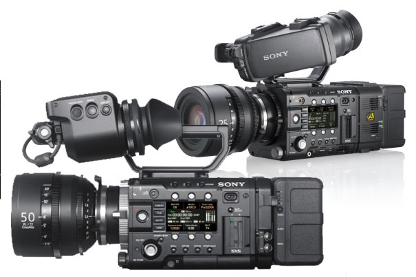 Sony F55 and F5 bundles at special prices 8